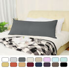 Zippered Body Pillow Case Cover Soft Microfiber Long Pillowcases image