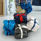 Reversible Plush Flannel Fleece Double Sided Berber Blankets for Couch 4 Colors image