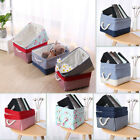 Fabric Storage Baskests Bins Toy Organizer for Closet Clothes Laundry Set of 2