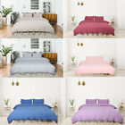 Duvet Cover And Shams Egyptian Comfort 1800 Count Bedding Set Bowknot- All Sizes