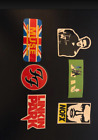 Rock Band Sticker - Muse, Elvis, Foo Fighters, Linkin Park, Nofx