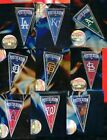 2014 MLB Team PostSeason Pennant Pin Choice post season pins 9 LA KC SF StL WAS on Ebay