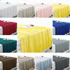 Cotton Cable Knitted Throw Blanket Soft Warm Lightweight Decorative Knit Blanket image