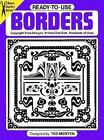 Ready-to-Use Borders (Dover Clip Art) Menten, Ted Paperback
