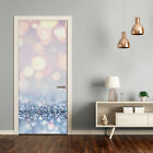 Removable Home Decor Door Wall Sticker Self Adhesive Modern Shiny Background