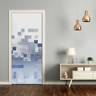 Removable Home Decor Door Wall Sticker Self Adhesive Modern Cubes Abstraction
