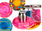 Inflatable Beverage Can Holder - Donut Water Melon - Drink Party BBQ Swimming