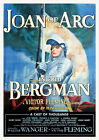 Joan of Arc 1948 Victor Fleming, Ingrid Bergman - Reproduction Movie Poster Art