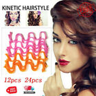 Magic Curl Formers Spiral Ringlets Leverage Rollers Tool Long Hair Curlers