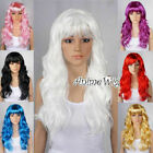 "8 Colors 24"" Long Curly Lolita Party Wig Cosplay Fancy Costume Halloween Gift"