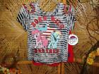 My Little Pony 2 pc Girls Day Wear Red Lace Shorts set Born wildNWT image