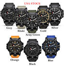 New Men's S SHOCK Sport Quartz Analog Digital Watch Waterproof SMAEL In Box image