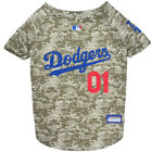 Los Angeles Dodgers MLB Dog Pet Camo Hunting Jersey (all sizes)