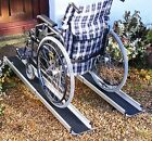 5 ft Foot 1.5m Folding Telescopic Wheelchair Mobility Scooter Channel Ramps