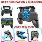 PUBG Mobile Phone Game Controller Joystick Cooling Fan Gamepad With Power Bank