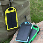 5000mah Dual-USB Waterproof Solar Power Bank Battery Charger for Stall Phone