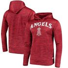 Los Angeles Angels Stitches Digital Fleece Pullover Hoodie - Heathered Red on Ebay