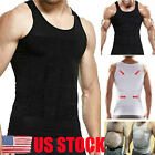 US Ultra Lift Body Slimming Shaper For Men Chest Compression Shaper Vest Top