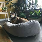 Majestic Pet Villa Collection Micro-velvet Bagel-style Large/Extra Large Dog Bed