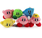 Cute Lovely Star Kirby Plush Toy Cute Keychain Popopo Small Pendant Doll 6Styles