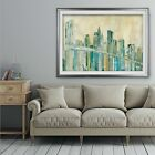 New York City Sketch - Premium Framed Print