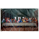 The Last Supper at Dunder Mifflin Wall Flag - The Office TV Show Tapestry