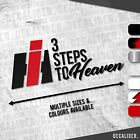Case IH Badge 3 Steps to Heaven Sticker / Decal - Multiple Colours & Sizes
