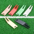 1PC Golf Green Divot Repair Tool Ball Marker Putting Fork Pitch Groove Cleaner