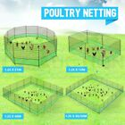 12/21/40M Poultry Net Chicken Netting Fence Hens Ducks Gooses with Posts