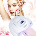 US/EU 80W LED UV Lamp Nail Dryer Nail Gel Curing Lamp 3 Timers Manicure HJ
