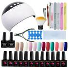 Starter 12 Colors Gel Nail Polish Kit with UV LED Nail Lamp Manicure - Best Reviews Guide