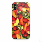 TROPICAL PRINT PHONE CASE STRAWBERRY FRUIT HARD COVER FOR APPLE SAMSUNG HUAWEI..
