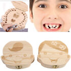 Kyпить Kids Boy/Girl Tooth Box Wood Storage Organizer Baby Save Milk Teeth Collector на еВаy.соm