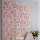Artificial Fake Rose Silk Flower DIY Wall Floral Decor Wedding Party Backdrop