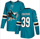 San Jose Sharks Burns#88 Couture#39 Men's NHL Hockey STITCHED Jersey $39.6 USD on eBay