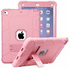 Hybrid Rugged Bumper Case with Stand Cover For Apple iPad 9.7 6th 5th Generation