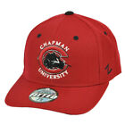 NCAA Original Zephyr Chapman Panthers Red Fitted Hat Cap Curved Bill Constructed