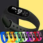 Men Women Casual Digital LED Sports Watch Unisex Silicone Band Wrist Watches TE image
