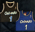 Men's Penny Hardaway Orlando Magic #1 Retro Throwback Stitched Jersey Blue/Black on eBay