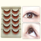 Colored False Eyelashes Thick Long Natural Lashes Extension for Stage Code