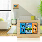 Digital LCD Indoor  Outdoor Weather Station Clock Calendar Thermometer Wireless