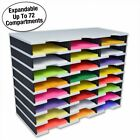 Ultimate Office TierDrop™ Expandable Literature Organizer/Sorter, 24-Compartment