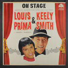 LOUIS PRIMA & KEELY SMITH: On Stage LP (neat clear taped seams) Vocalists