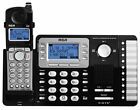 RCA 25252 2-Line Cordless Business Phone System With 1 or 2 Cordless Handsets