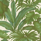 Versace Wallpaper 962405 | Paste The Wall | Green Palm Leaf Jungle | 96240-5 NEW