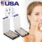50100PCS Dental Teeth Temporary Oral Care Resin Crown AnteriorMolar Teeth US