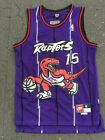 VINCE CARTER #15 Toronto Raptors Swingman throwback Men's Jersey NWT