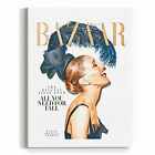 Wall Glam Fashion Art Canvas Print Magazine Cover Jessica Parker artwork
