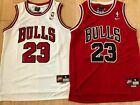 Michael Jordan #23 Red Chicago Bulls Red/WhiteJersey Men NWT Brand New!!! on eBay