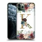 NATURE MAGICK FLOWERS MONOGRAM FLORAL GOLD CASE FOR APPLE iPHONE PHONES